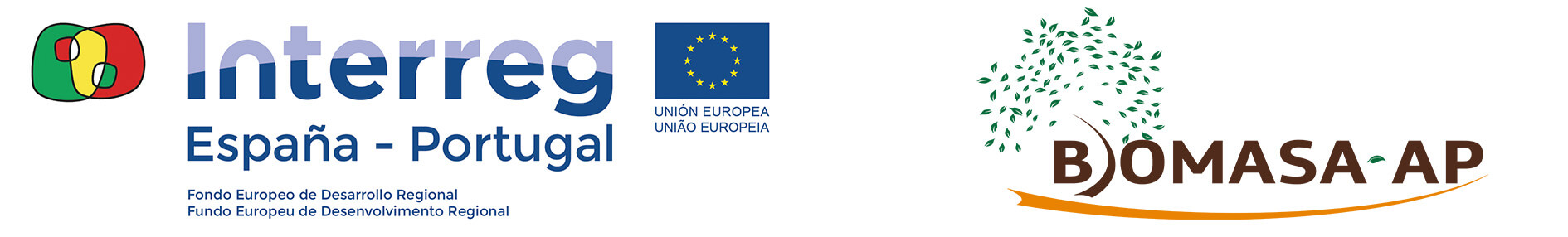 Logo Biomasa-AP e Interreg